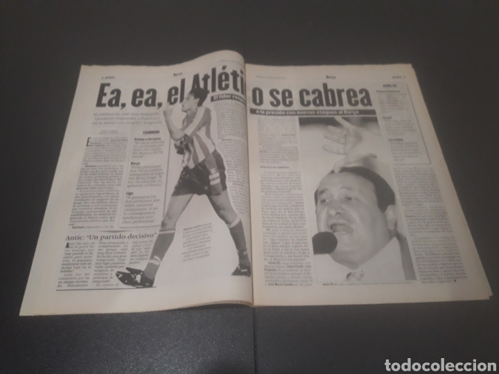 Coleccionismo deportivo: SPORT N° 5927. 4 DE MAYO 1996. - Foto 3 - 255956935