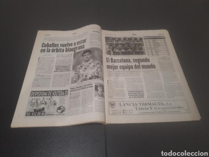 Coleccionismo deportivo: SPORT N° 5927. 4 DE MAYO 1996. - Foto 8 - 255956935