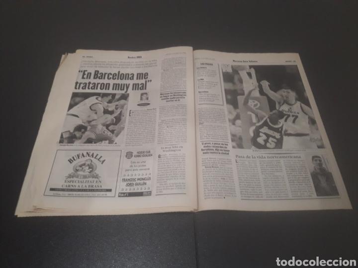 Coleccionismo deportivo: SPORT N° 5927. 4 DE MAYO 1996. - Foto 23 - 255956935