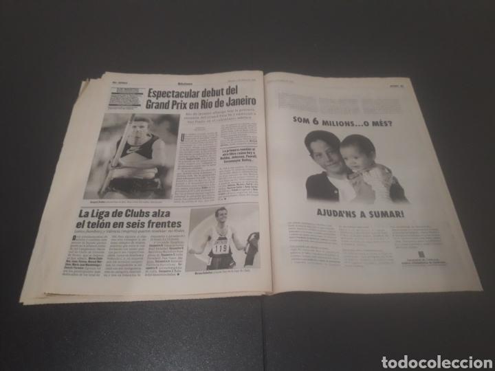 Coleccionismo deportivo: SPORT N° 5927. 4 DE MAYO 1996. - Foto 26 - 255956935