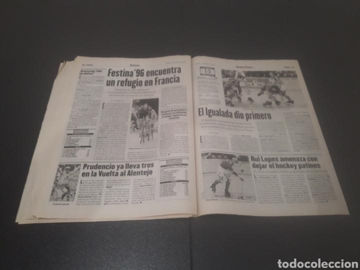 Coleccionismo deportivo: SPORT N° 5927. 4 DE MAYO 1996. - Foto 27 - 255956935
