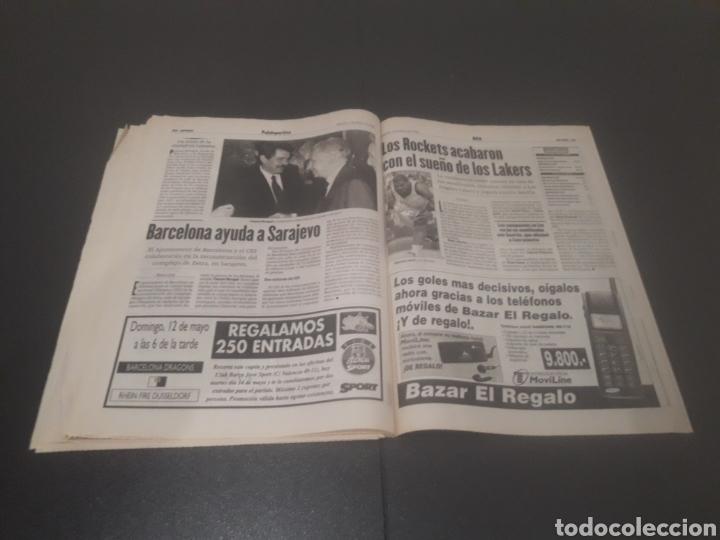 Coleccionismo deportivo: SPORT N° 5927. 4 DE MAYO 1996. - Foto 29 - 255956935