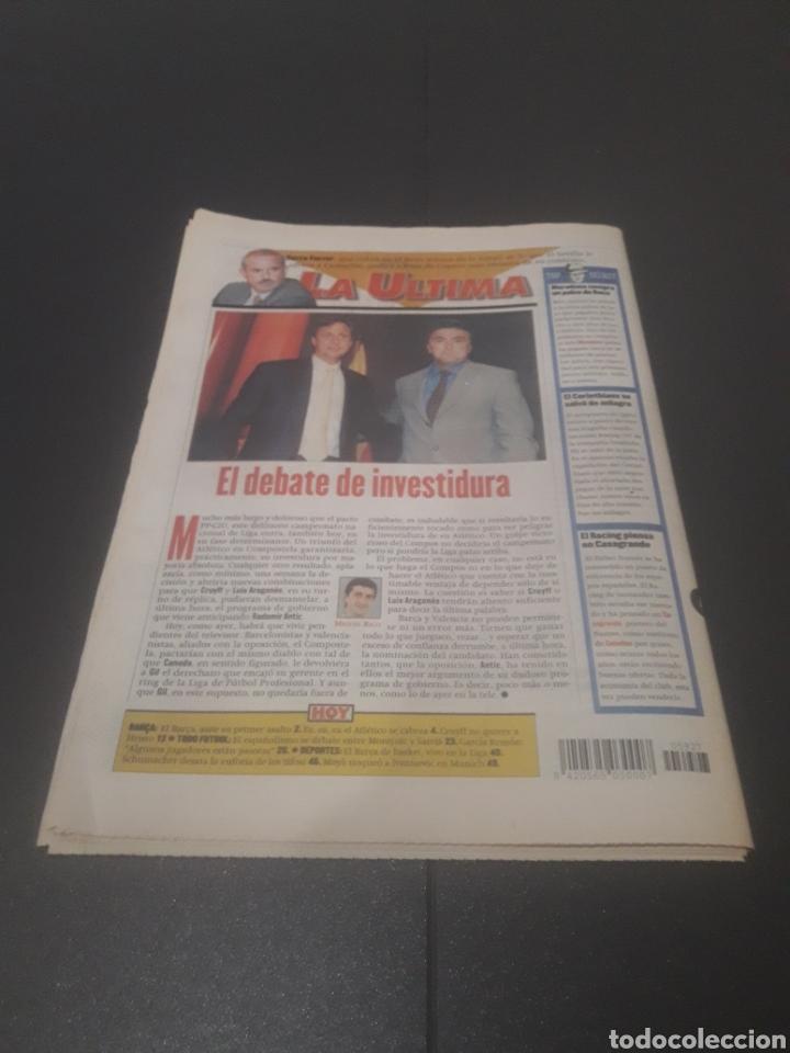 Coleccionismo deportivo: SPORT N° 5927. 4 DE MAYO 1996. - Foto 33 - 255956935
