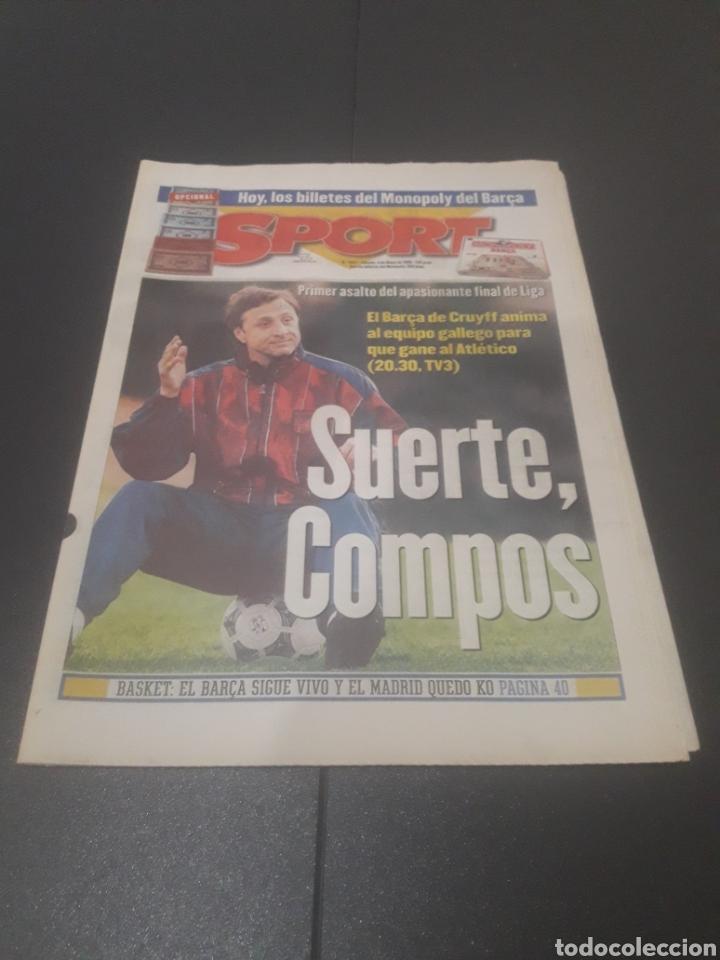SPORT N° 5927. 4 DE MAYO 1996. (Coleccionismo Deportivo - Revistas y Periódicos - Sport)
