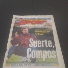 Coleccionismo deportivo: SPORT N° 5927. 4 DE MAYO 1996.. Lote 255956935