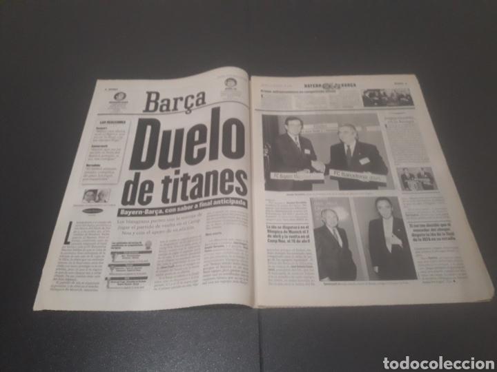 Coleccionismo deportivo: SPORT N° 5886. 23 DE MARZO 1996. - Foto 2 - 255959070