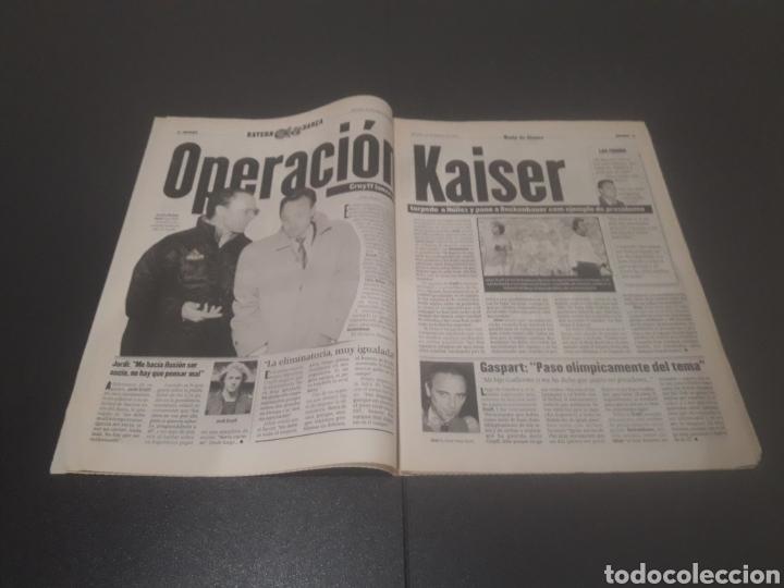 Coleccionismo deportivo: SPORT N° 5886. 23 DE MARZO 1996. - Foto 3 - 255959070