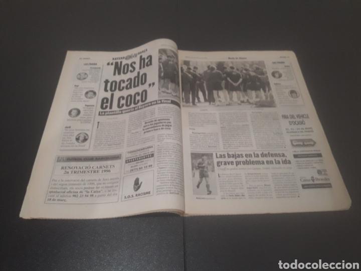 Coleccionismo deportivo: SPORT N° 5886. 23 DE MARZO 1996. - Foto 6 - 255959070