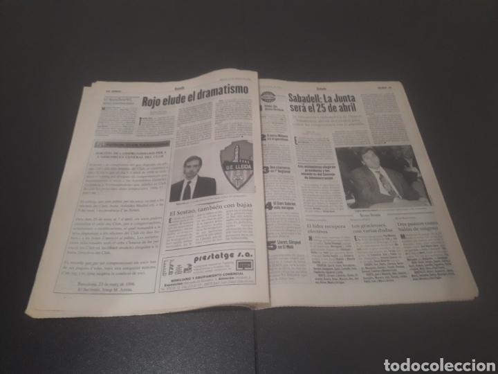 Coleccionismo deportivo: SPORT N° 5886. 23 DE MARZO 1996. - Foto 21 - 255959070