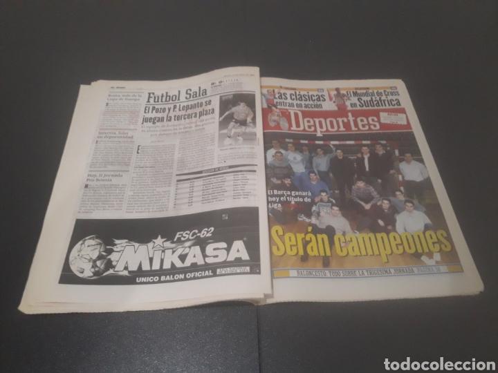 Coleccionismo deportivo: SPORT N° 5886. 23 DE MARZO 1996. - Foto 22 - 255959070