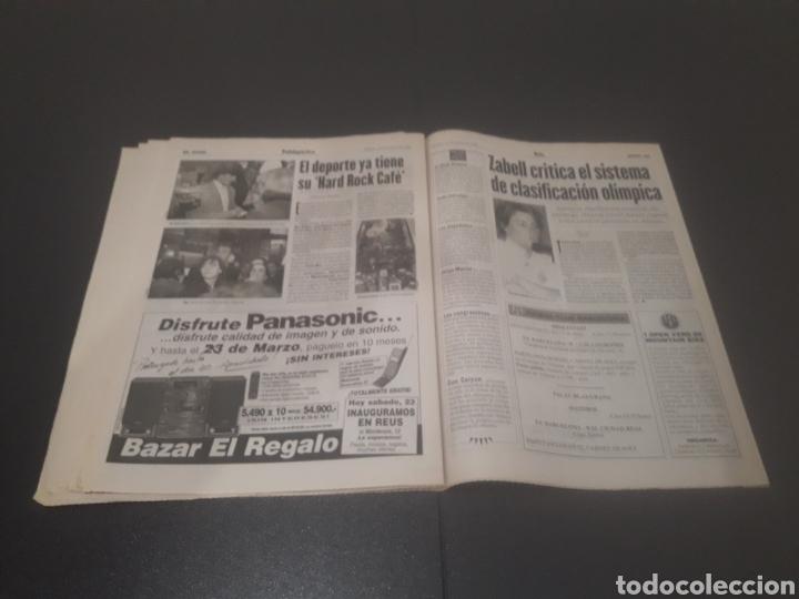 Coleccionismo deportivo: SPORT N° 5886. 23 DE MARZO 1996. - Foto 29 - 255959070