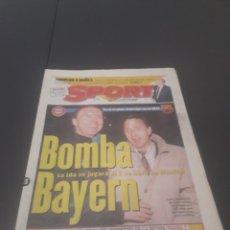 Coleccionismo deportivo: SPORT N° 5886. 23 DE MARZO 1996.. Lote 255959070