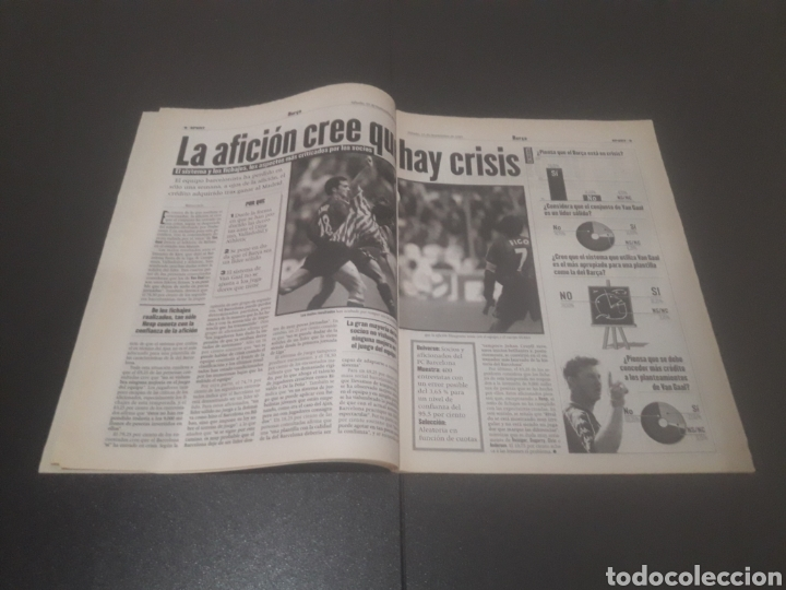 Coleccionismo deportivo: SPORT N° 6484. 15 DE NOVIEMBRE 1997. - Foto 5 - 255991095