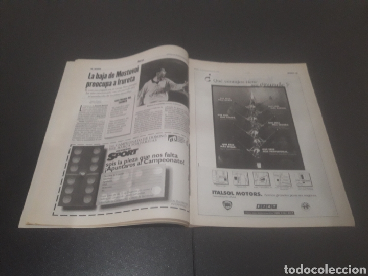 Coleccionismo deportivo: SPORT N° 6484. 15 DE NOVIEMBRE 1997. - Foto 10 - 255991095