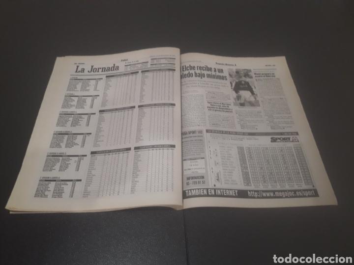 Coleccionismo deportivo: SPORT N° 6484. 15 DE NOVIEMBRE 1997. - Foto 20 - 255991095