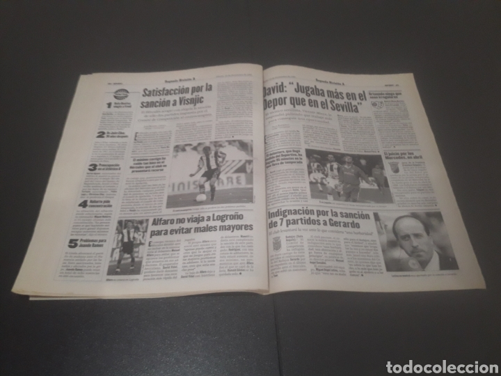 Coleccionismo deportivo: SPORT N° 6484. 15 DE NOVIEMBRE 1997. - Foto 21 - 255991095