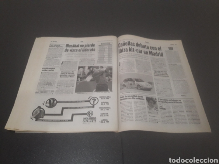 Coleccionismo deportivo: SPORT N° 6484. 15 DE NOVIEMBRE 1997. - Foto 27 - 255991095