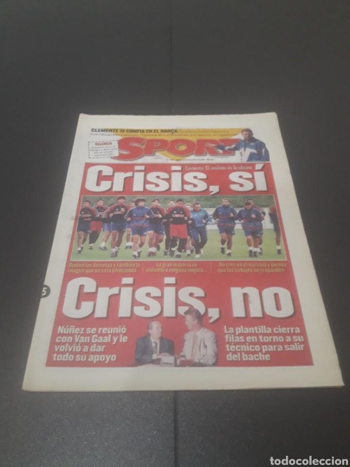 SPORT N° 6484. 15 DE NOVIEMBRE 1997. (Coleccionismo Deportivo - Revistas y Periódicos - Sport)