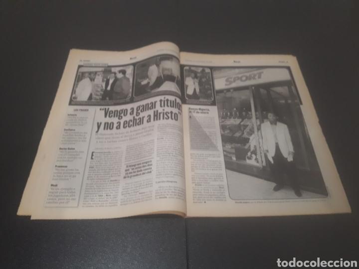 Coleccionismo deportivo: SPORT N° 6152. 15 DE DICIEMBRE 1996. - Foto 9 - 255992095