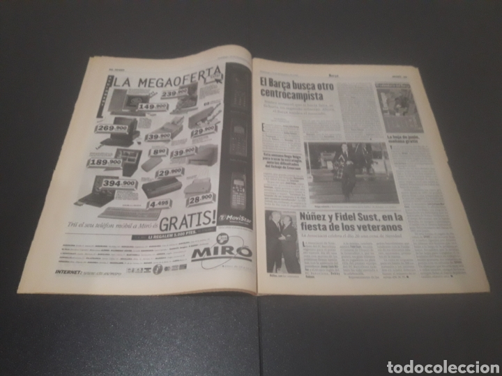 Coleccionismo deportivo: SPORT N° 6152. 15 DE DICIEMBRE 1996. - Foto 12 - 255992095