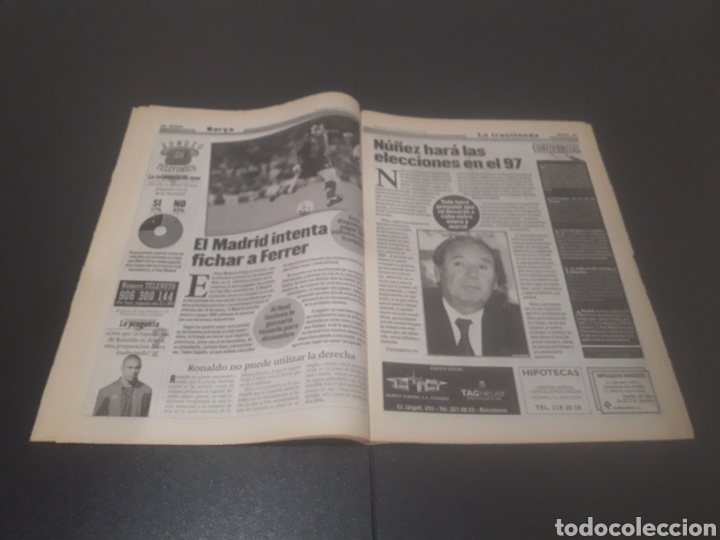 Coleccionismo deportivo: SPORT N° 6152. 15 DE DICIEMBRE 1996. - Foto 13 - 255992095