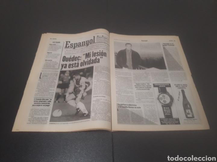 Coleccionismo deportivo: SPORT N° 6152. 15 DE DICIEMBRE 1996. - Foto 15 - 255992095