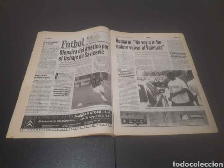 Coleccionismo deportivo: SPORT N° 6152. 15 DE DICIEMBRE 1996. - Foto 16 - 255992095