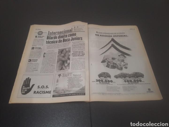 Coleccionismo deportivo: SPORT N° 6152. 15 DE DICIEMBRE 1996. - Foto 22 - 255992095