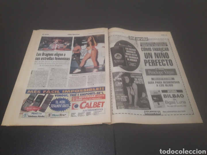 Coleccionismo deportivo: SPORT N° 6152. 15 DE DICIEMBRE 1996. - Foto 28 - 255992095