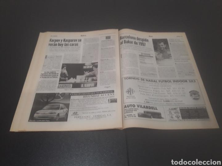 Coleccionismo deportivo: SPORT N° 6152. 15 DE DICIEMBRE 1996. - Foto 29 - 255992095
