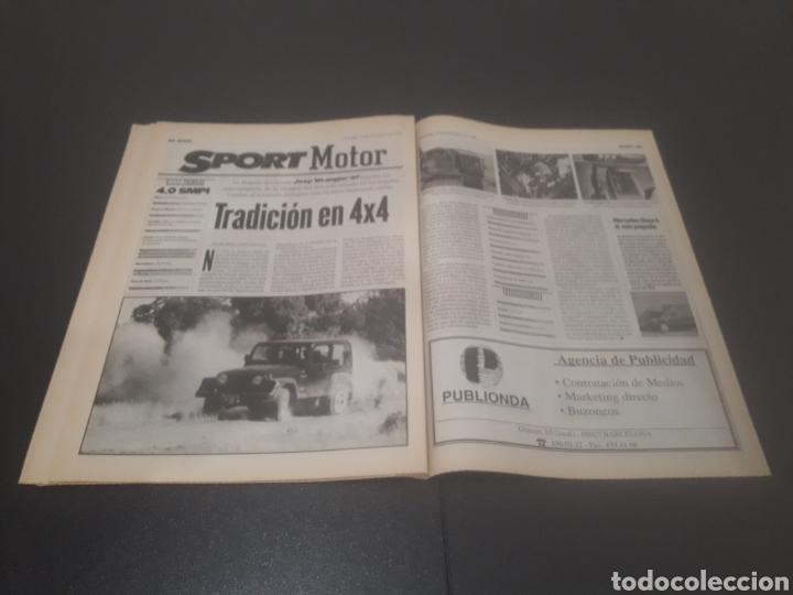 Coleccionismo deportivo: SPORT N° 6152. 15 DE DICIEMBRE 1996. - Foto 30 - 255992095