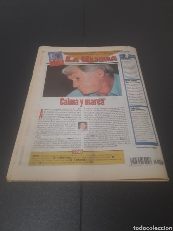 Coleccionismo deportivo: SPORT N° 6152. 15 DE DICIEMBRE 1996. - Foto 40 - 255992095