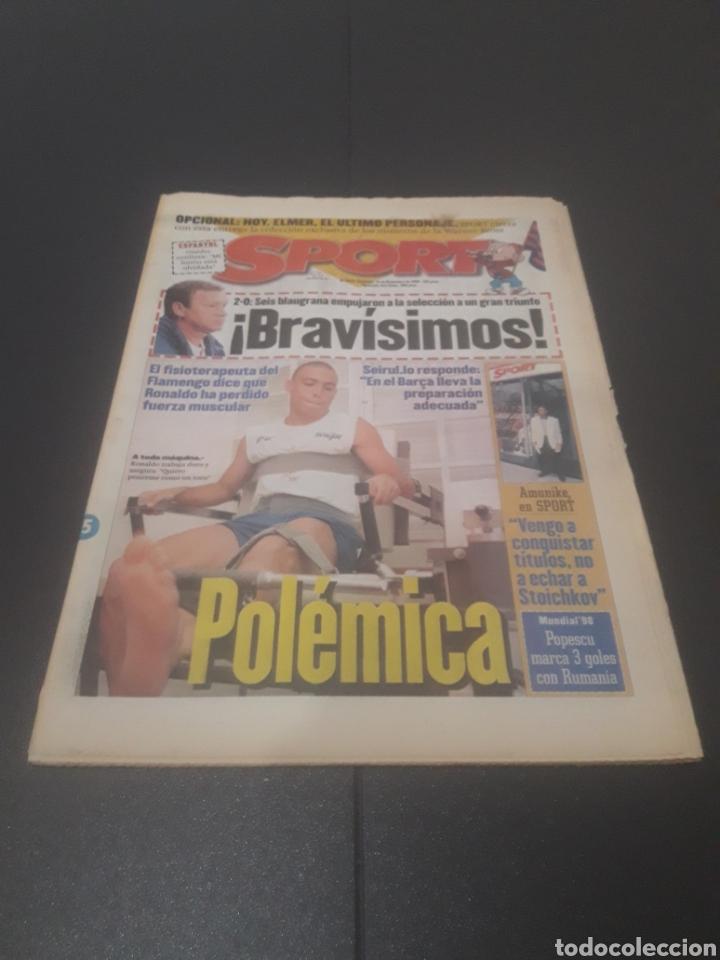 SPORT N° 6152. 15 DE DICIEMBRE 1996. (Coleccionismo Deportivo - Revistas y Periódicos - Sport)