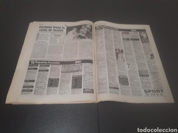Coleccionismo deportivo: SPORT N° 5093. 13 DE ENERO 1994. - Foto 34 - 255993610