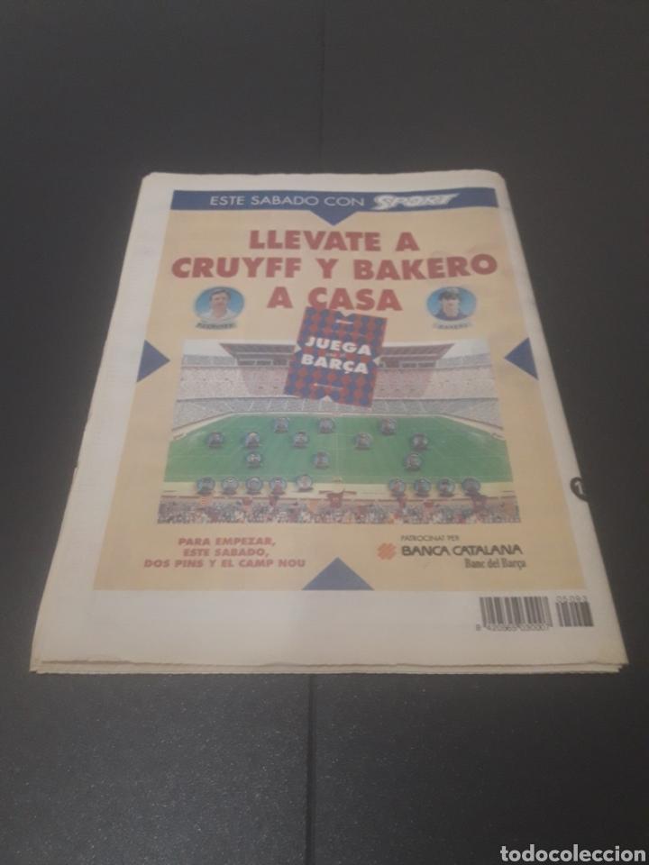 Coleccionismo deportivo: SPORT N° 5093. 13 DE ENERO 1994. - Foto 37 - 255993610