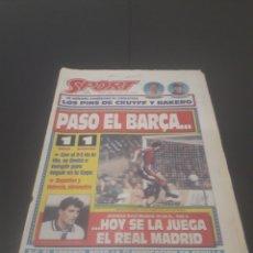 Coleccionismo deportivo: SPORT N° 5093. 13 DE ENERO 1994.. Lote 255993610