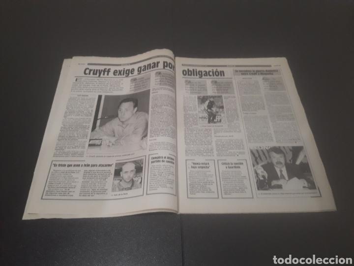 Coleccionismo deportivo: SPORT N° 5776. 2 DE DICIEMBRE 1995. - Foto 3 - 255996785