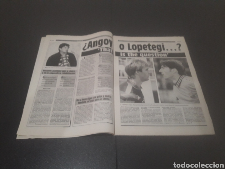 Coleccionismo deportivo: SPORT N° 5776. 2 DE DICIEMBRE 1995. - Foto 4 - 255996785