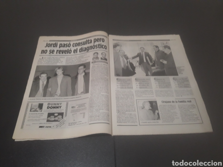 Coleccionismo deportivo: SPORT N° 5776. 2 DE DICIEMBRE 1995. - Foto 6 - 255996785