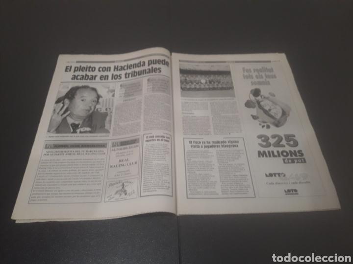 Coleccionismo deportivo: SPORT N° 5776. 2 DE DICIEMBRE 1995. - Foto 7 - 255996785