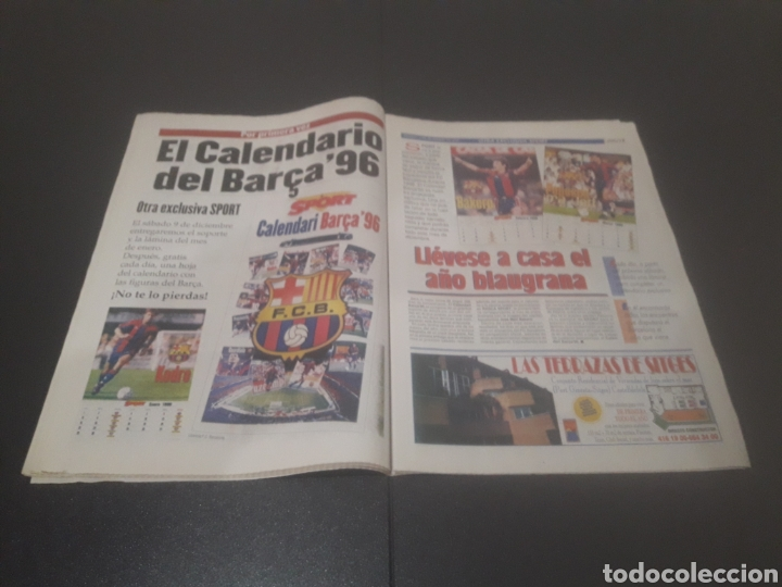 Coleccionismo deportivo: SPORT N° 5776. 2 DE DICIEMBRE 1995. - Foto 10 - 255996785