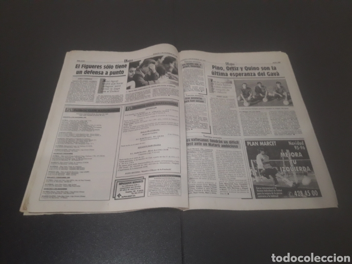 Coleccionismo deportivo: SPORT N° 5776. 2 DE DICIEMBRE 1995. - Foto 20 - 255996785