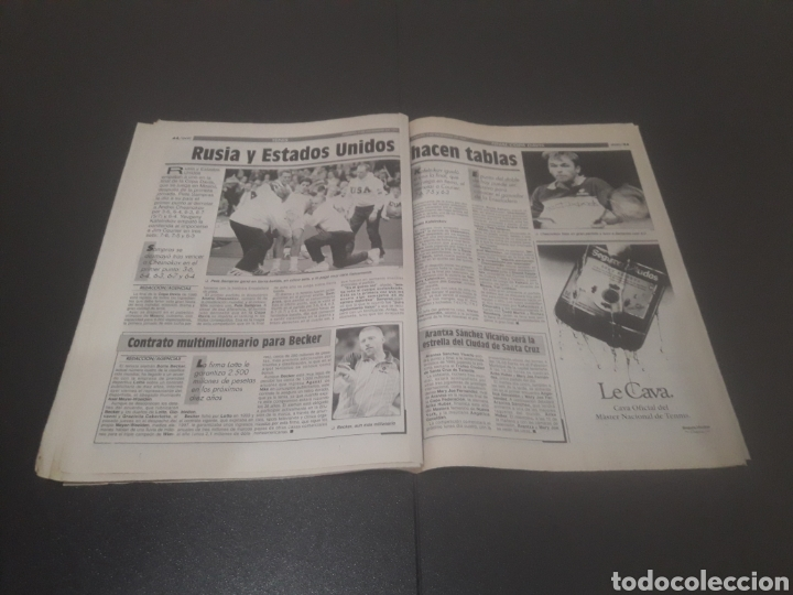 Coleccionismo deportivo: SPORT N° 5776. 2 DE DICIEMBRE 1995. - Foto 23 - 255996785