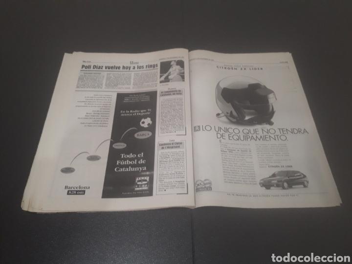 Coleccionismo deportivo: SPORT N° 5776. 2 DE DICIEMBRE 1995. - Foto 25 - 255996785