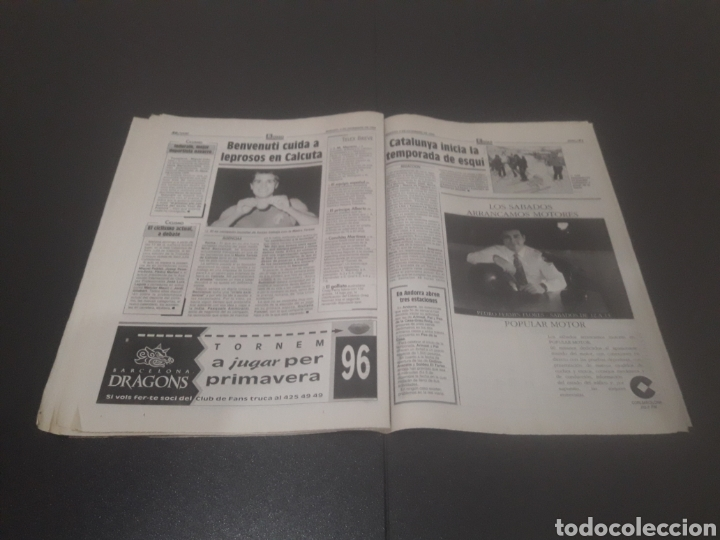 Coleccionismo deportivo: SPORT N° 5776. 2 DE DICIEMBRE 1995. - Foto 26 - 255996785
