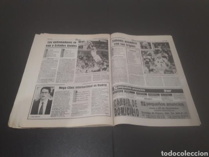 Coleccionismo deportivo: SPORT N° 5776. 2 DE DICIEMBRE 1995. - Foto 33 - 255996785