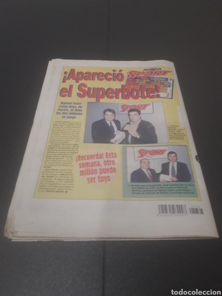 Coleccionismo deportivo: SPORT N° 5776. 2 DE DICIEMBRE 1995. - Foto 37 - 255996785