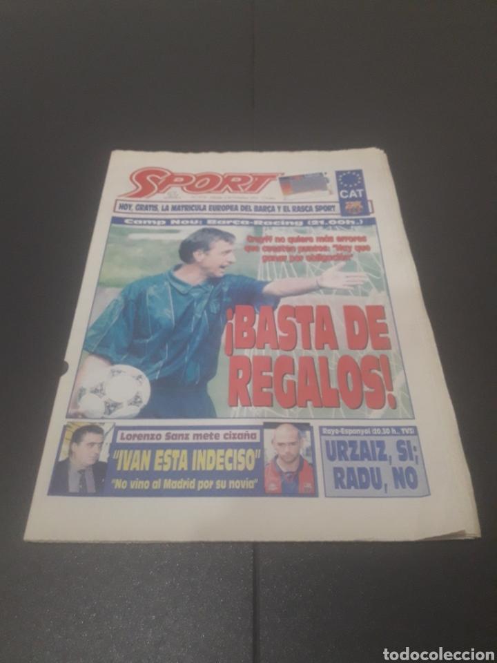 SPORT N° 5776. 2 DE DICIEMBRE 1995. (Coleccionismo Deportivo - Revistas y Periódicos - Sport)