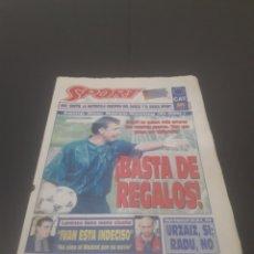 Coleccionismo deportivo: SPORT N° 5776. 2 DE DICIEMBRE 1995.. Lote 255996785