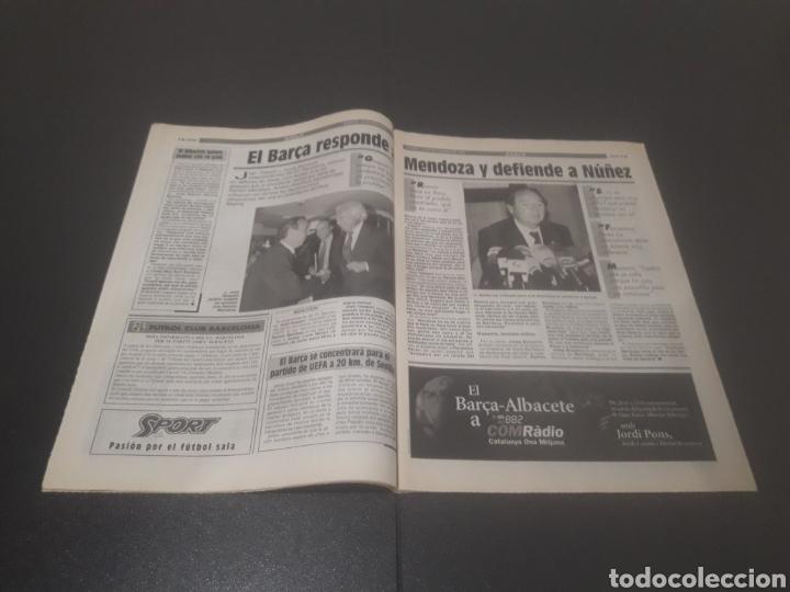 Coleccionismo deportivo: SPORT N° 5762. 18 DE NOVIEMBRE 1995. - Foto 7 - 255998290